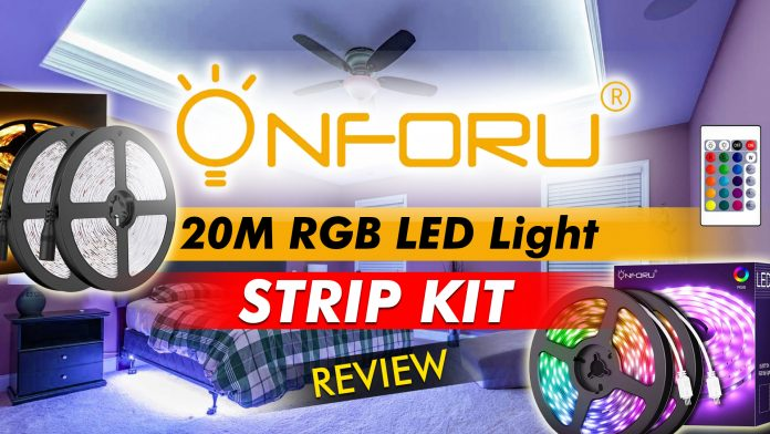 Onforu 20m Rgb Light Strip Kit