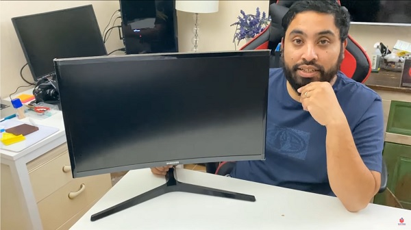 """samsung 24"""" crg5 144hz curved gaming monitor"""
