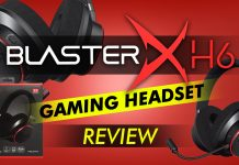 Sound Blasterx H6 Gaming Headset Review