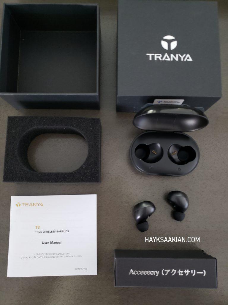 Tranya T3 Bluetooth Earbuds Unboxing