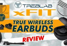 Treblab Xfit True Wireless Earbuds Review