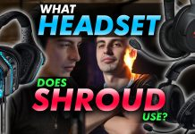 What Headset Does Shroud Use