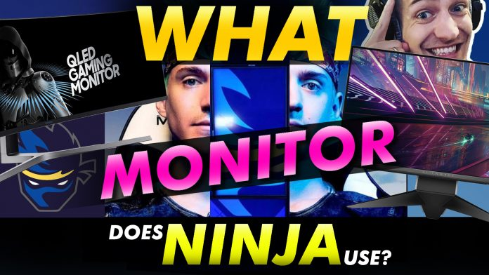 What Monitor Does Ninja Use