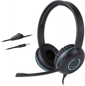 Cyber Acoustics Headphones With Mic