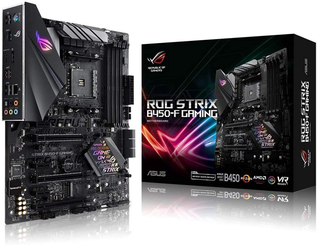 Asus Rog Strix B450 F Gaming Motherboard