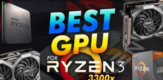 Best Gpu For The Ryzen 3 3300x