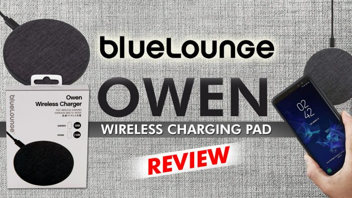 Bluelounge Owen Wireless Charging Pad Review