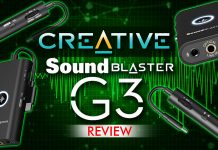 Creative Sound Blaster G3 Review