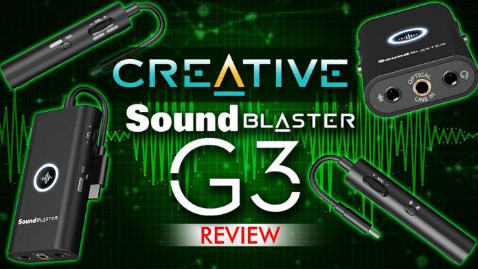 Creative Sound Blaster G3 Review
