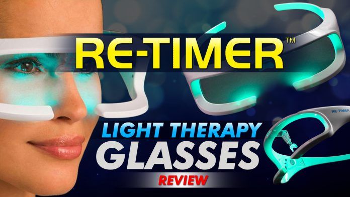 Re Timer Light Therapy Glasses