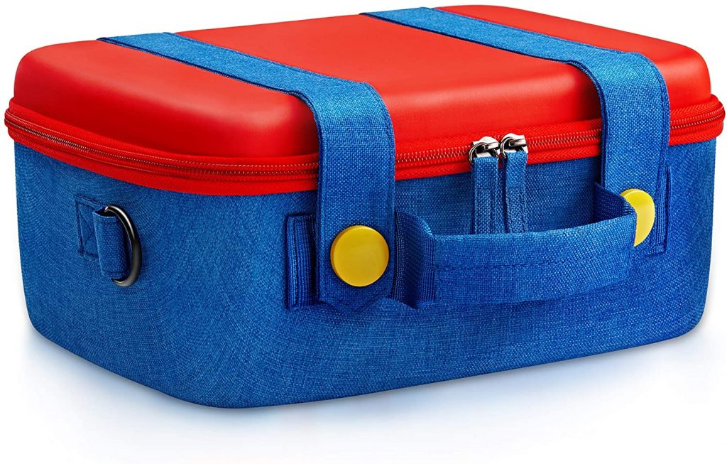 Travel Carrying Case Compatible With Nintendo Switch System