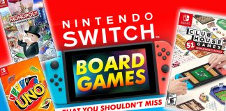 11 Nintendo Switch Board Games That You Shouldn't Miss