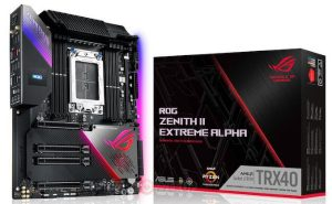 Asus Rog Zenith II Extreme Alpha Trx40