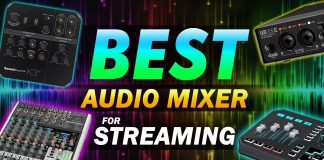 Best Audio Mixer For Streaming