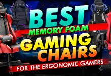 Best Memory Foam Gaming Chairs For The Ergonomic Gamer