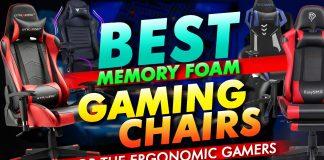 Best Memory Foam Gaming Chairs For The Ergonomic Gamer