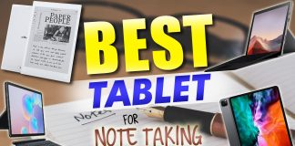Best Tablet For Note Taking In 2020