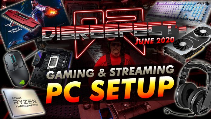 Dr Disrespect's June 2020 Gaming And Streaming Pc Setup
