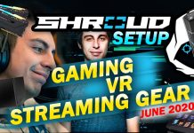 Shroud Setup Gaming, Vr, And Streaming Gear