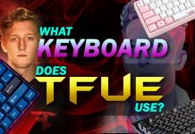 What Keyboard Does Tfue Use