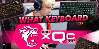 What Keyboard Does Xqc Use