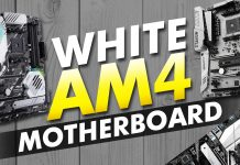 White Am4 Motherboards