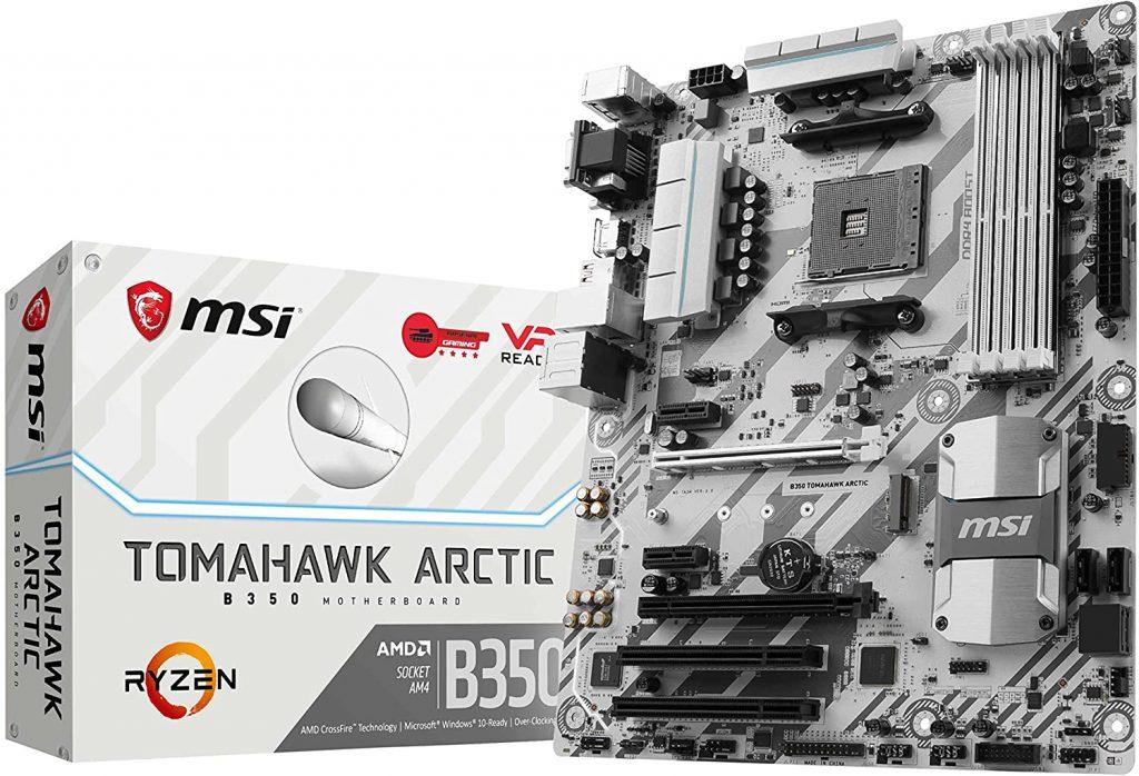 Msi Gaming B350 Tomahawk Arctic