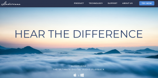 Audirvana Homepage