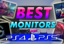 Best Monitors For Ps5 And Ps4