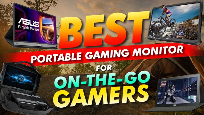 Best Portable Gaming Monitor For On The Go Gamers