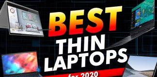 Best Thin Laptops For 2020