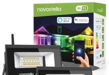 Novostella 2 Pack Wifi Smart Led Flood Lights