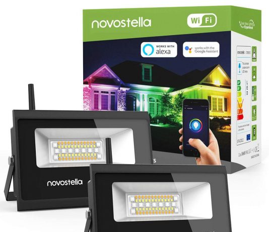 Novostella 2 Pack Wifi Smart Led Flood Lights