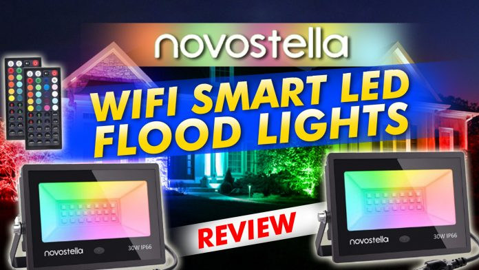Novastella Wifi Smart Led Flood Lights