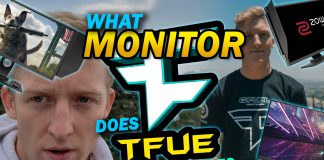 What Monitor Does Tfue Use