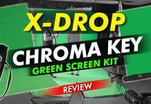 X Drop Chroma Key Green Screen Kit Review