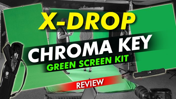 X Drop Chroma Key Green Screen Kit Review