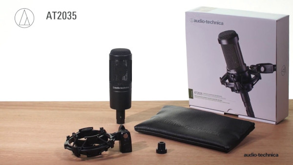 Audio Technica At2035 Out Of The Box
