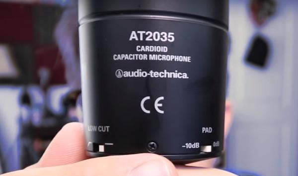 Audio Technica At2035 Settings