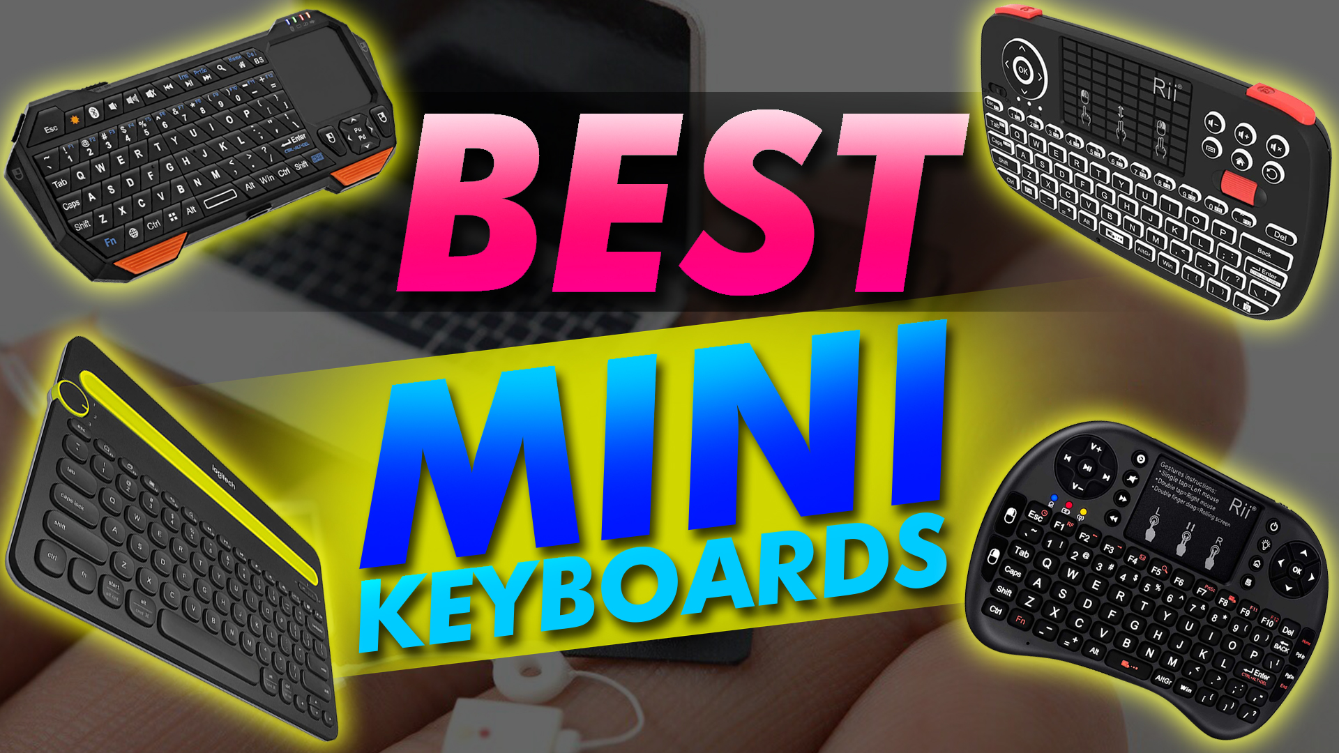 Browser for JVC/ LT-55C898 55 Remote Control for YouTube Black Wireless Mini Keyboard /& Mouse Easy Control