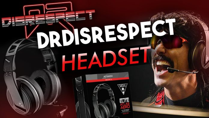 Dr Disrespect Headset