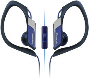 Panasonic Sports Clip Earbud Headphones With Mic Or Controller Rp Hs34m A