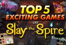 Top 5 Exciting Games Like Slay The Spire