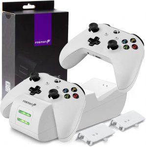 Fosmon Dual Controller Charger