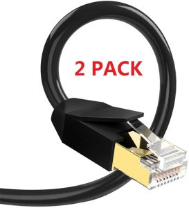 Glanics Cat 8 Gold Plated Ethernet Cable