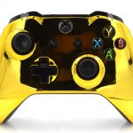 Xbox One S Chrome Gold Custom Modded Controller