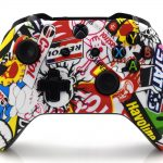 Xbox One S Sticker Bomb Custom Modded Controller
