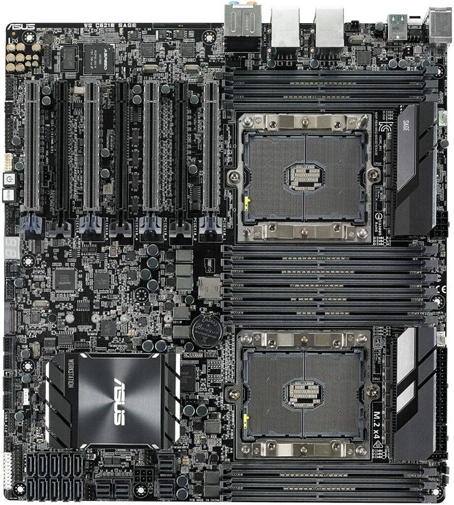 Asus Ws C621e Motherboard Xeon Cpu