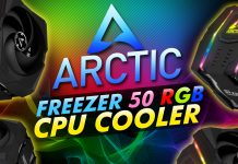 Arctic Freezer 50 Rgb Cpu Cooler