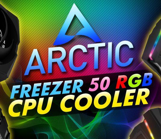 Arctic Freezer 50 Rgb Cpu Cooler
